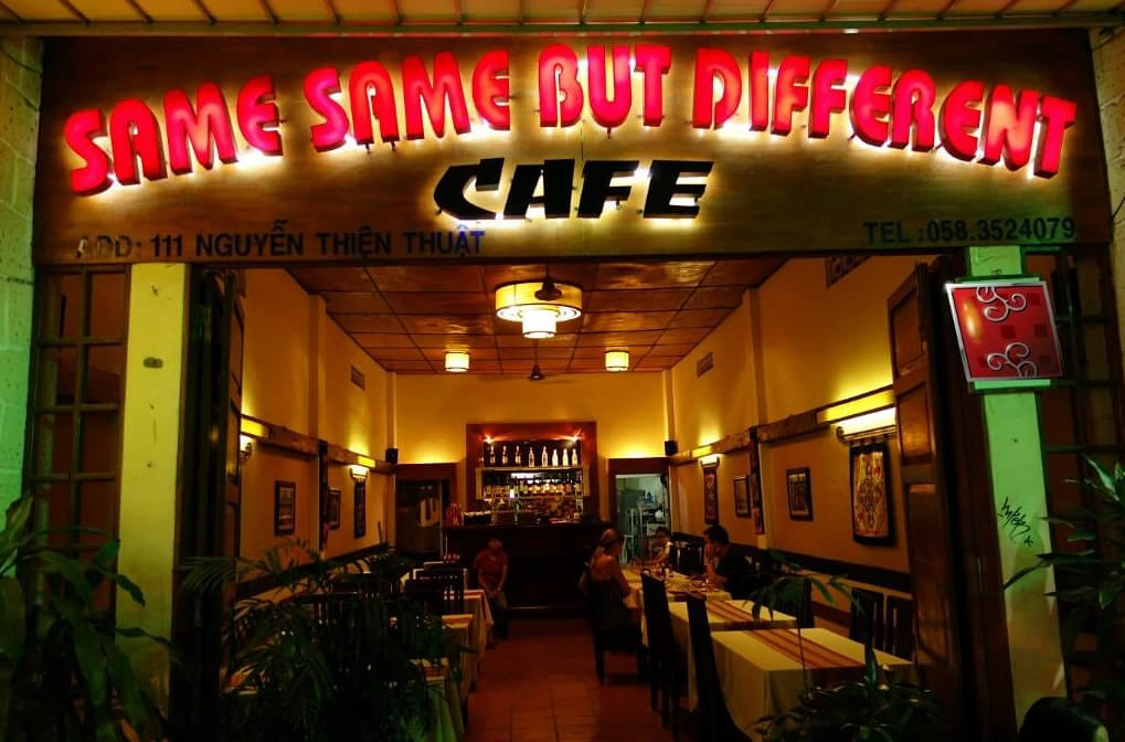Кафе Same Same But Defferent Cafe