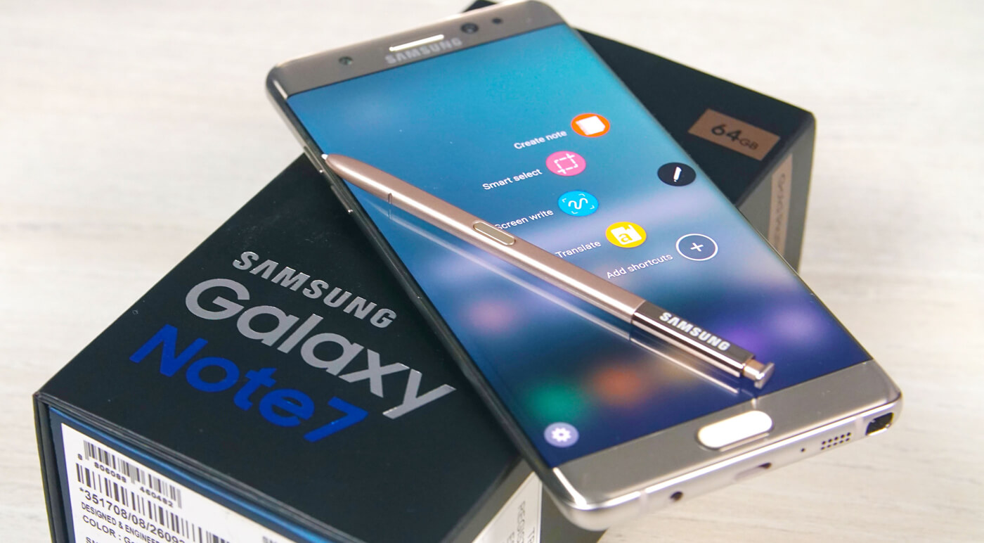 Телефон Samsung Galaxy Note 7