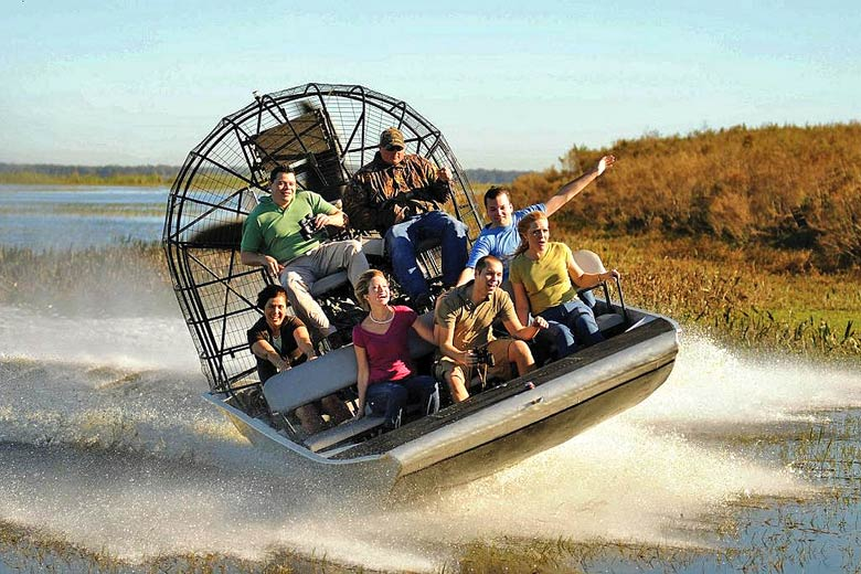 Florida airboat - courtesy of www.visitflorida.com